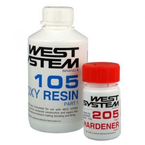 West System Juniorpakke 600 g, herder 205 standard