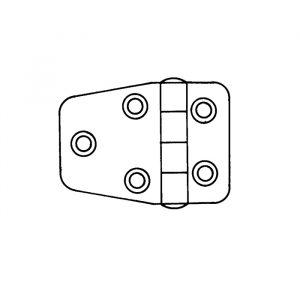 Hengsel for luke 60mmx42mm
