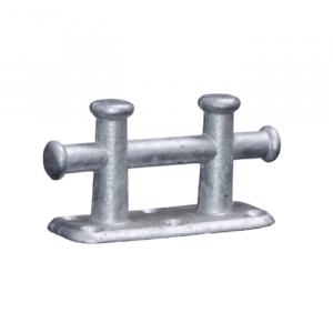 Bryggepuller Galvanisert Dobbel 235X90mm