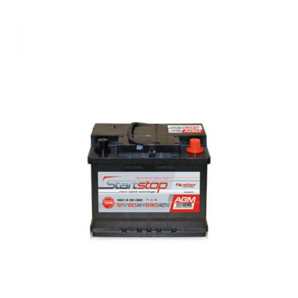 Panther Batteri AGMStart/Stopp 560 09 - 60Ah 680CCA