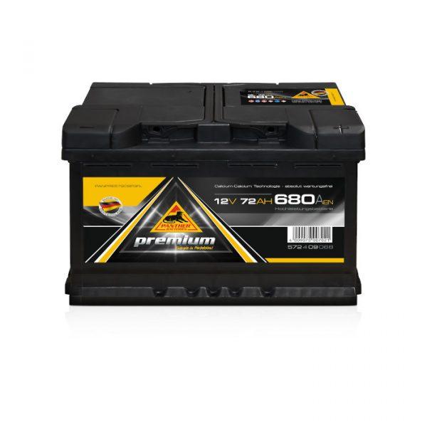 Panther Batteri 572 09 - 72Ah 680CCA