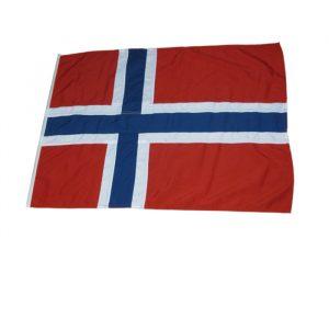 Norsk båtflagg 75x55cm Premium