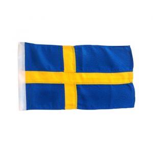 Gjesteflagg Sverige 30 x 19cm