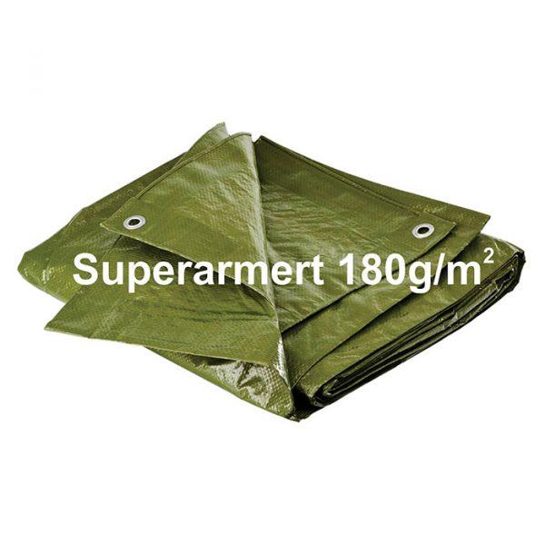Presenning Superarmert 180g/m² 3,00m x 5,00m