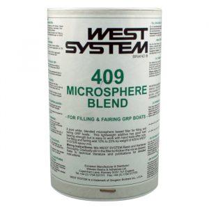 West System Fyllstoff 409 for galssfiber/polyester, 400 g