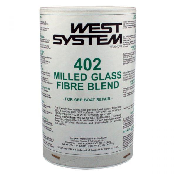 West System Fyllstoff 402 for glassfiber/polyester, 100 g