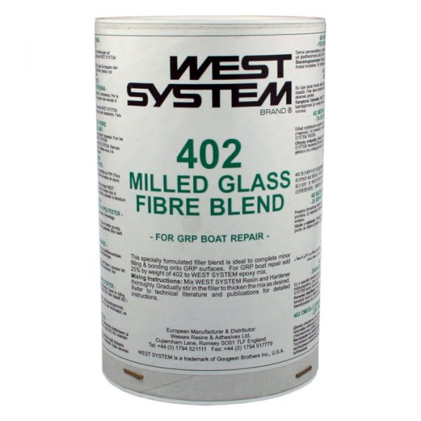 West System Fyllstoff 402 for glassfiber/polyester, 500 g