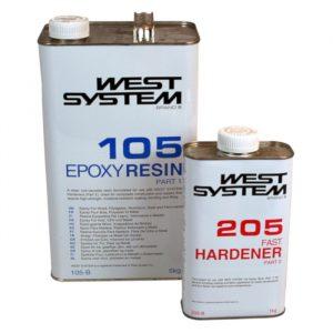West System B-pakke, 6 kg (standard herder)