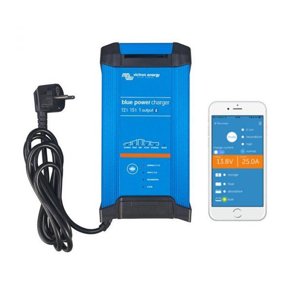 Victron Blue Smart IP22 Batterilader 12V 15A 1-kanal