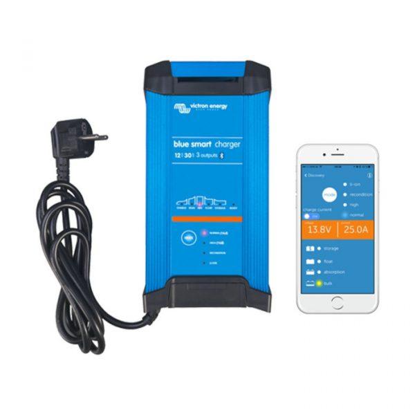 Victron Blue Smart IP22 Batterilader 12V 30A 3-kanaler