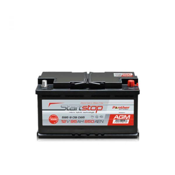 Panther Batteri AGMStart/Stopp 595 09 - 95Ah 850CCA