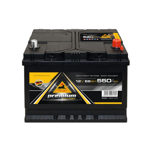 Panther Batteri 568 04 - 68Ah 550CCA