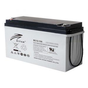 Ritar DC12-150 AGM-batteri 150Ah