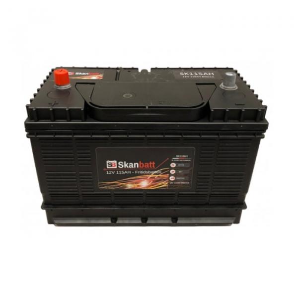 Skanbatt Fritidsbatteri 115ah 800CCA