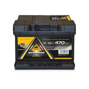 Panther Batteri 553 00 - 53Ah 470CCA