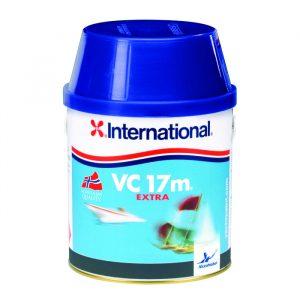 Vc17m extra international, hardt bunnstoff, svart 750ml