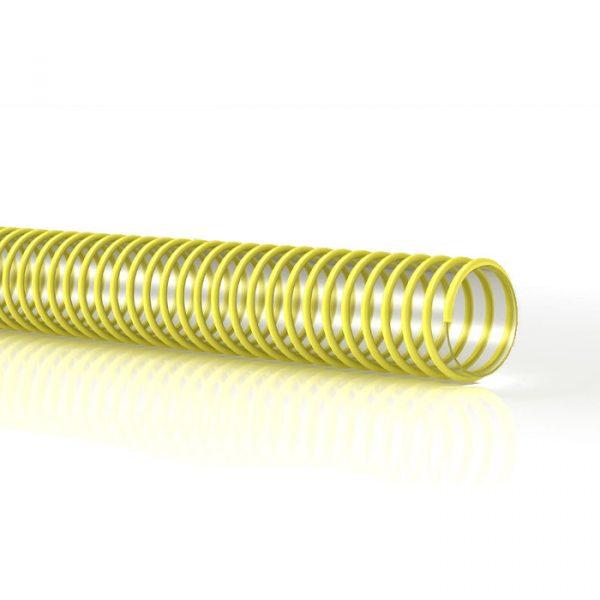 Vannslange gul m/nylonspiral 19mm