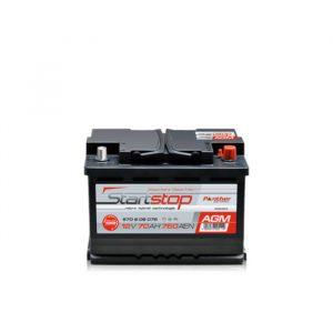 Panther Batteri AGMStart/Stopp 570 09 - 70Ah 760CCA